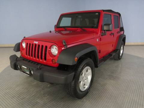 2013 Jeep Wrangler Unlimited for sale at Hagan Automotive in Chatham IL