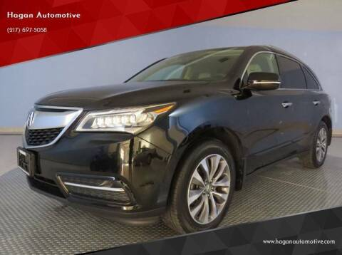 2014 Acura MDX for sale at Hagan Automotive in Chatham IL