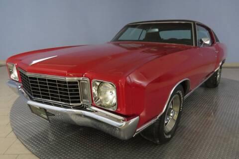 1972 Chevrolet Monte Carlo for sale at Hagan Automotive in Chatham IL