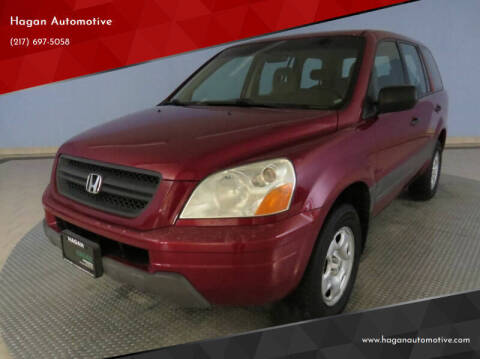 2004 Honda Pilot for sale at Hagan Automotive in Chatham IL