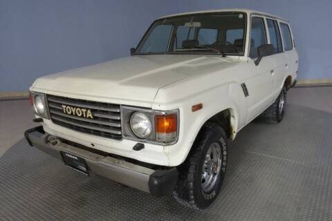 1984 Toyota Land Cruiser for sale at Hagan Automotive in Chatham IL