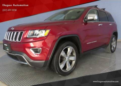 2014 Jeep Grand Cherokee for sale at Hagan Automotive in Chatham IL