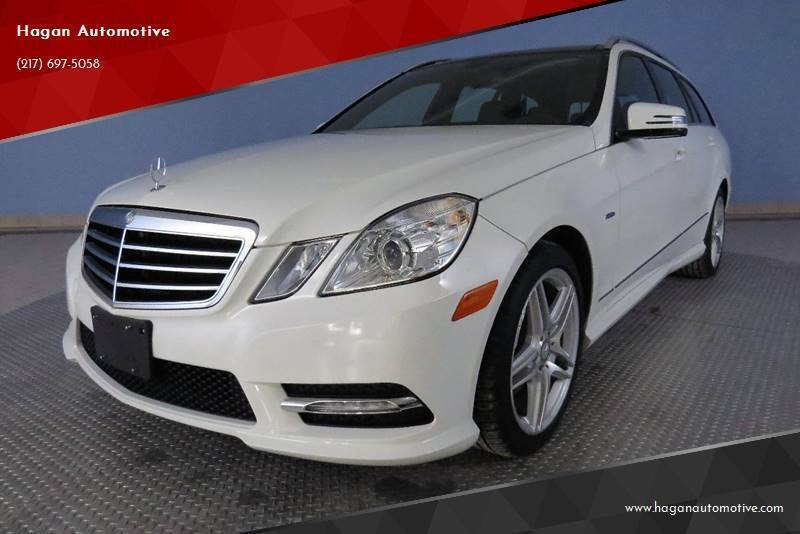 2012 Mercedes-Benz E-Class for sale at Hagan Automotive in Chatham IL