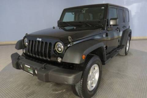 2015 Jeep Wrangler Unlimited for sale at Hagan Automotive in Chatham IL