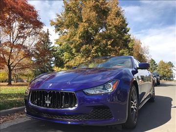 2014 Maserati Ghibli for sale in Littleton, CO