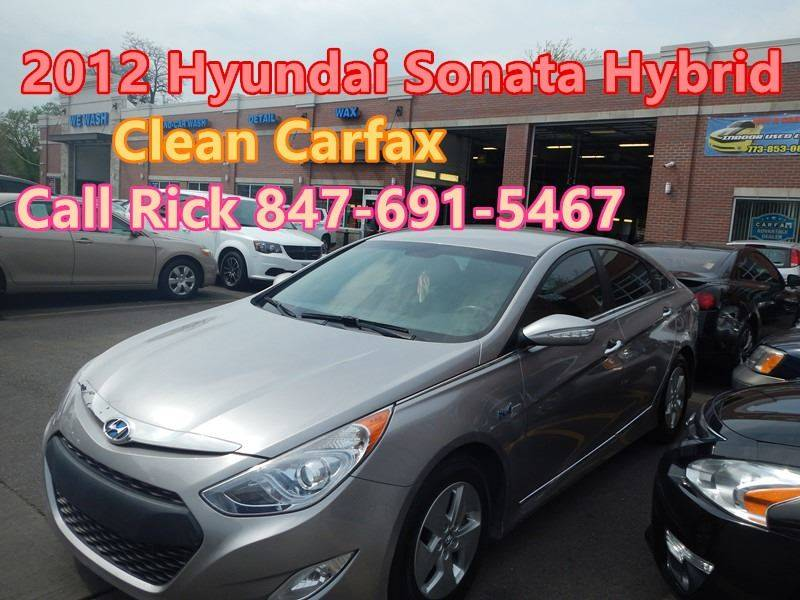 2012 Hyundai Sonata Hybrid For Sale At Buy A Car In Chicago IL