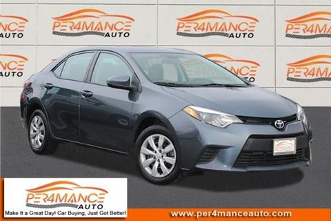 2014 Toyota Corolla for sale in Hanover, MD