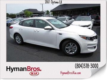 2017 Kia Optima for sale in Midlothian, VA