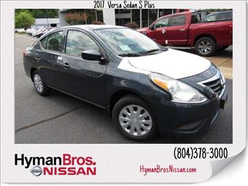 2017 Nissan Versa for sale in Midlothian, VA