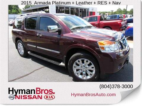 2015 Nissan Armada for sale in Midlothian, VA