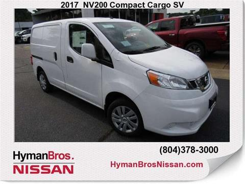 2017 Nissan NV200 for sale in Midlothian, VA