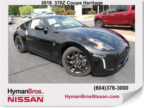 2018 nissan 380z. Wonderful Nissan 2018 Nissan 370Z For Sale In Midlothian VA With Nissan 380z