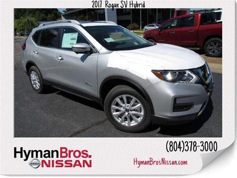 2017 Nissan Rogue Hybrid for sale in Midlothian, VA