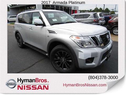 2017 Nissan Armada for sale in Midlothian, VA