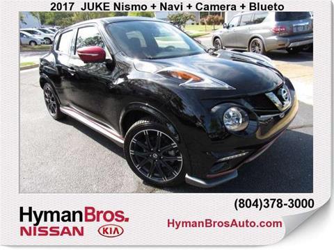 2017 Nissan JUKE for sale in Midlothian, VA