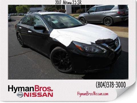 2017 Nissan Altima for sale in Midlothian, VA