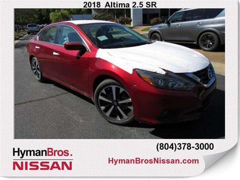 2018 Nissan Altima for sale in Midlothian, VA