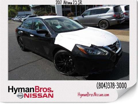2017 Nissan Altima for sale in Midlothian, VA