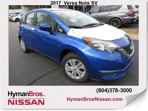 2017 Nissan Versa Note for sale in Midlothian, VA
