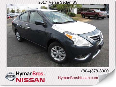 2017 Nissan Versa for sale in Midlothian, VA