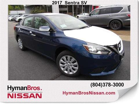 2017 Nissan Sentra for sale in Midlothian, VA