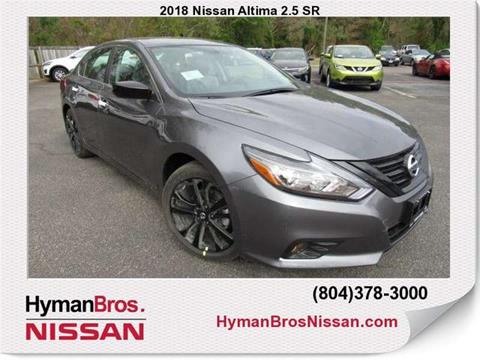 2018 Nissan Altima for sale in Midlothian, VA