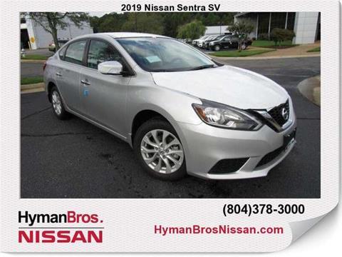 2019 Nissan Sentra for sale in Midlothian, VA