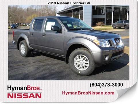 2019 Nissan Frontier for sale in Midlothian, VA