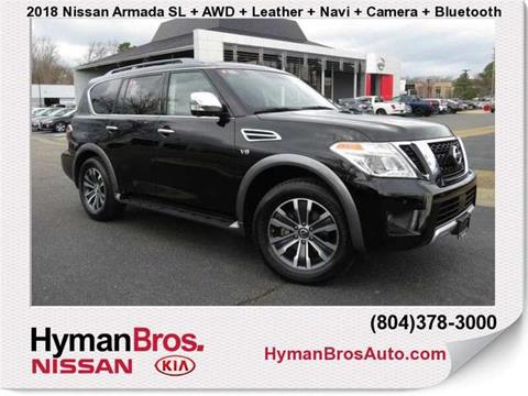2018 Nissan Armada for sale in Midlothian, VA