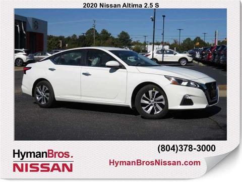 2020 Nissan Altima for sale in Midlothian, VA