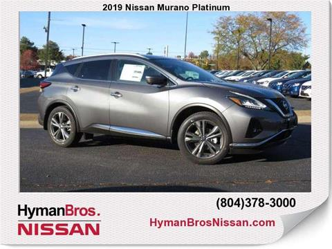 2019 Nissan Murano for sale in Midlothian, VA