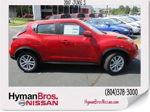 2017 Nissan JUKE for sale in Midlothian, VA