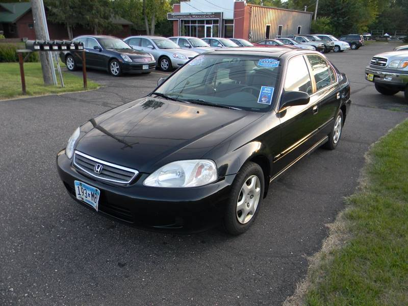 High Quality 1999 Honda Civic EX 4dr Sedan   Lakeland MN