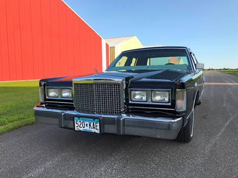 1986 Lincoln Town Car For Sale Carsforsale Com