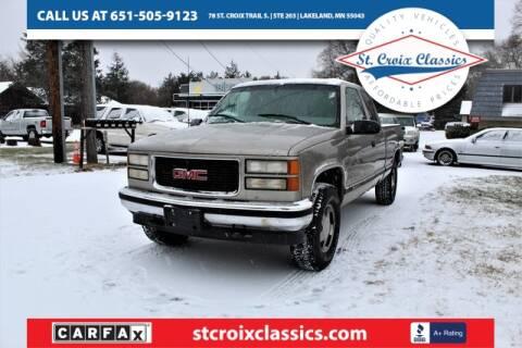 1998 GMC Sierra 1500 for sale in Lakeland, MN