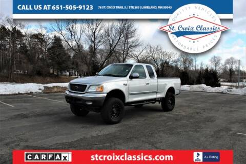 2003 Ford F-150 for sale at St. Croix Classics in Lakeland MN