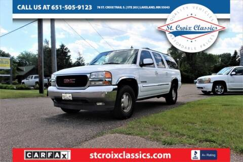 2006 GMC Yukon XL for sale at St. Croix Classics in Lakeland MN