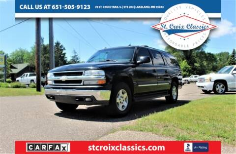 2005 Chevrolet Suburban for sale at St. Croix Classics in Lakeland MN