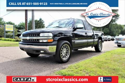 2002 Chevrolet Silverado 1500 for sale at St. Croix Classics in Lakeland MN