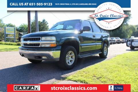 2004 Chevrolet Tahoe for sale at St. Croix Classics in Lakeland MN