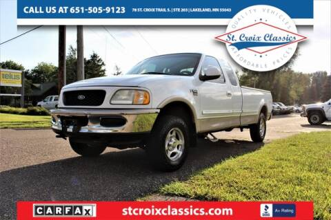 1998 Ford F-150 for sale at St. Croix Classics in Lakeland MN