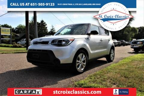 2015 Kia Soul for sale at St. Croix Classics in Lakeland MN