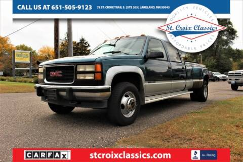 1993 GMC Sierra 3500 for sale at St. Croix Classics in Lakeland MN
