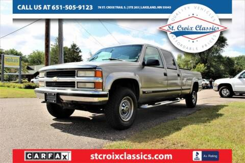 1998 Chevrolet C/K 3500 Series for sale at St. Croix Classics in Lakeland MN