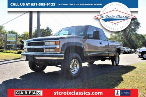 1996 Chevrolet C/K 2500 Series for sale at St. Croix Classics in Lakeland MN