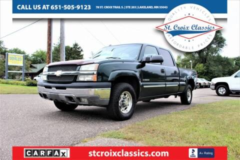 2005 Chevrolet Silverado 1500HD for sale at St. Croix Classics in Lakeland MN