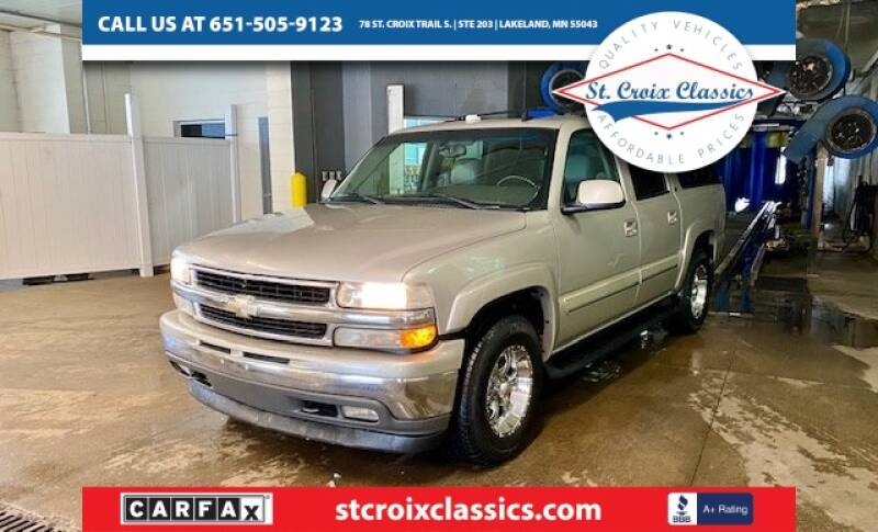 2006 Chevrolet Suburban for sale at St. Croix Classics in Lakeland MN