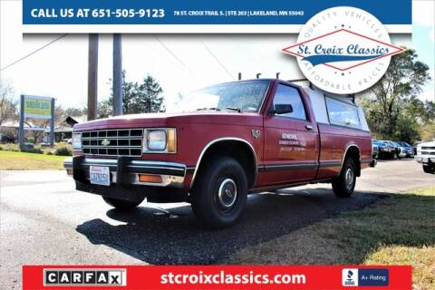 1983 Chevrolet S-10 for sale at St. Croix Classics in Lakeland MN