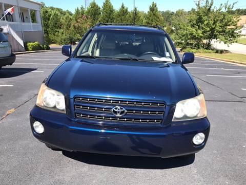 2003 Toyota Highlander for sale in Newnan, GA
