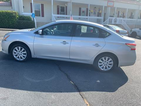 2014 Nissan Sentra for sale at DDN & G Auto Sales in Newnan GA